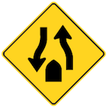 wa-35-divided-road-ends-signs