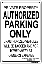 auhtorized-parking-only-with-toronto-code-sign