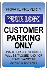 custom-parking-sign